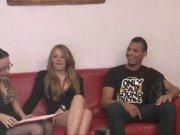 L'image de la vidéo : Candice, une brune ...